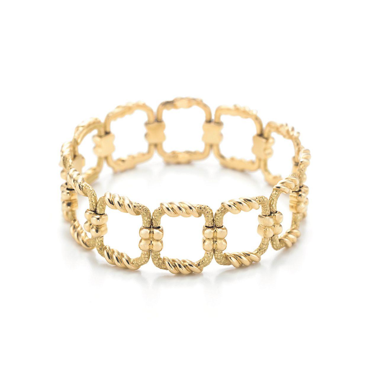 Schlumberger Open Square Bracelet