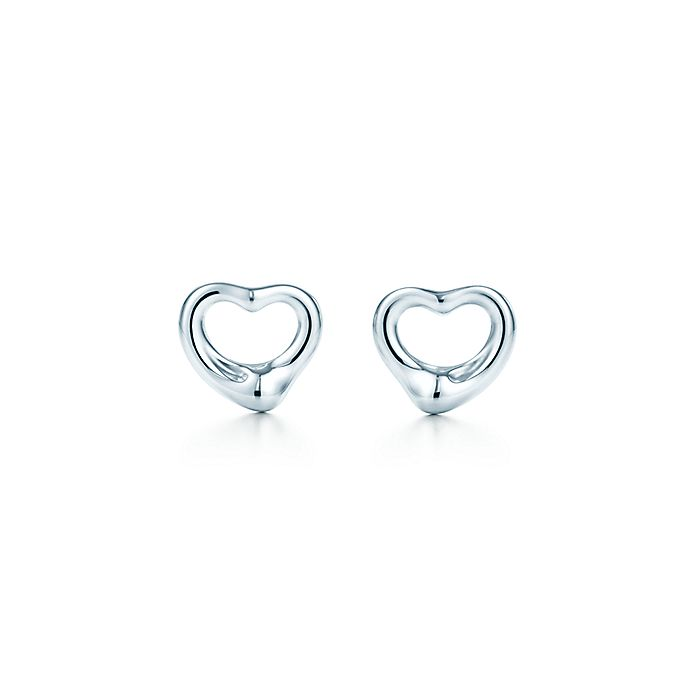 d7bbaf079 Elsa Peretti® Open Heart Earrings | Tiffany & Co.