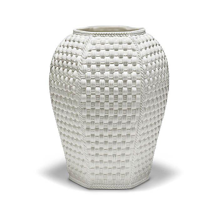 Tiffany Weave Hexagonal Vase 8 High Tiffany Co