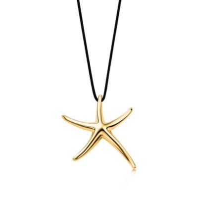 Elsa Peretti Starfish pendant in 18k gold Tiffany Co