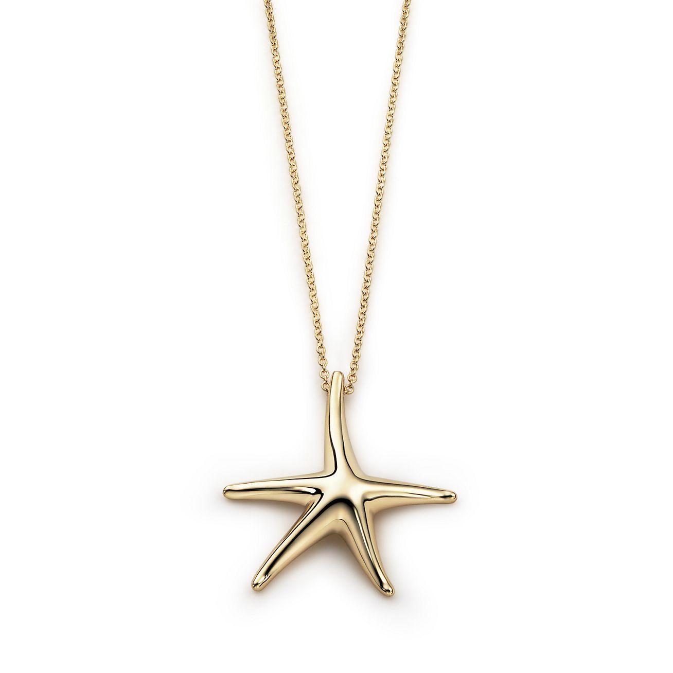 Elsa peretti starfish pendant in 18k gold 28 mm tiffany co elsa perettistarfish pendant aloadofball Choice Image