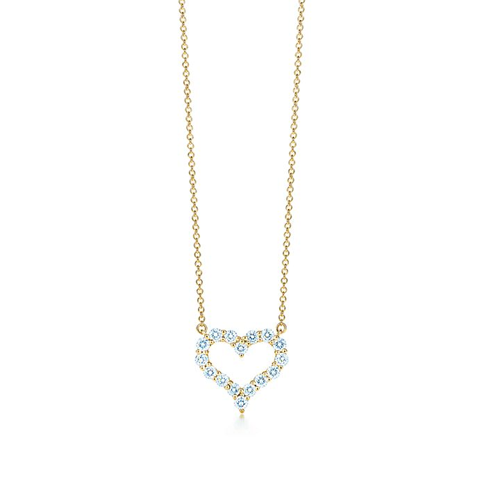 2a8901232 Pendant in 18k gold with diamonds, small. | Tiffany & Co.