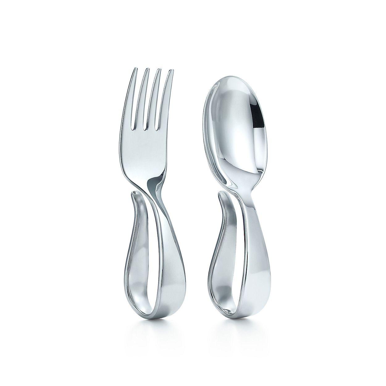 Loop Fork And Spoon Baby Set