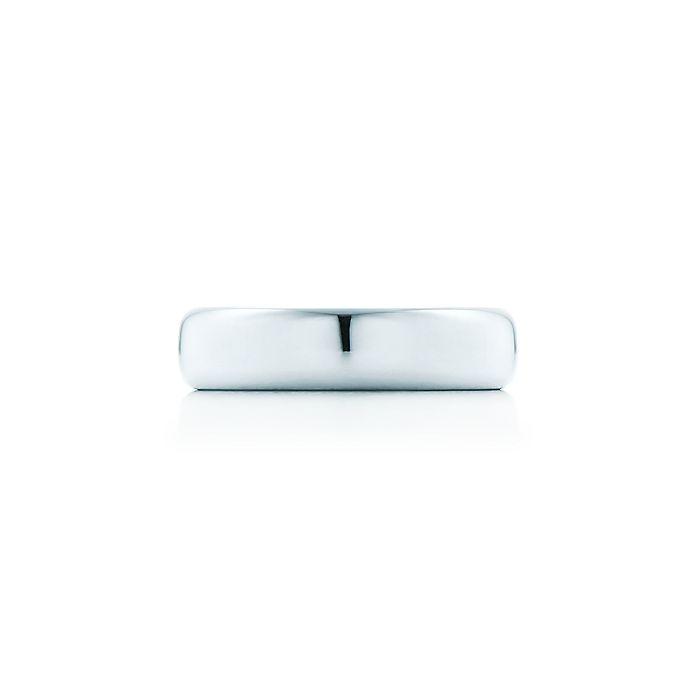 2b849f34f Tiffany Classic™ wedding band ring in platinum, 4.5 mm wide ...
