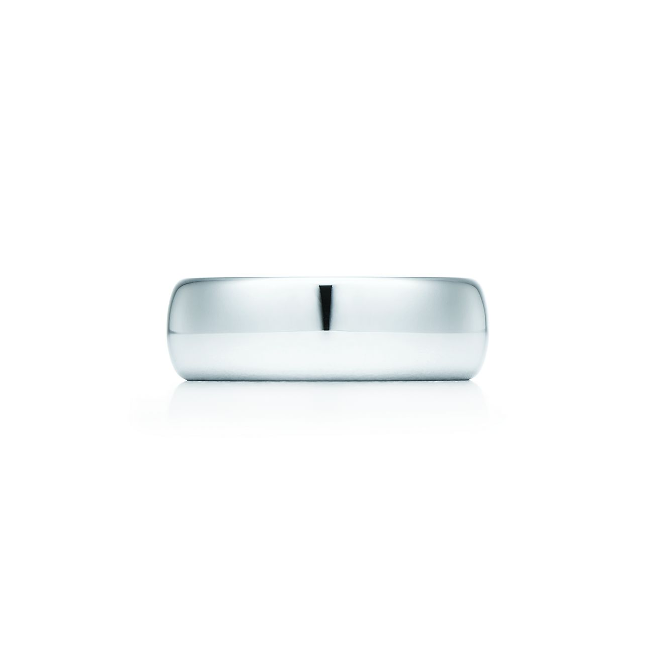 Tiffany Classic™ wedding band ring in platinum, 6 mm wide. | Tiffany ...