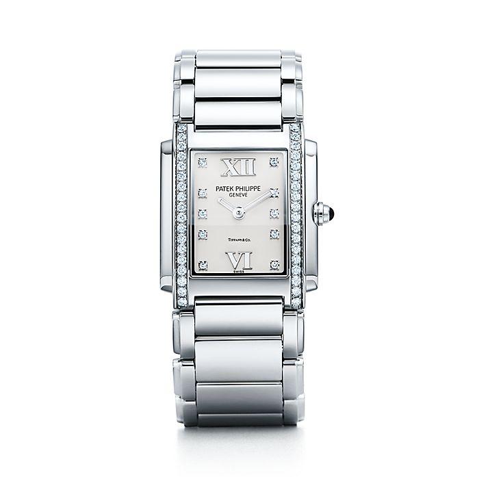 Steel amp; Philippe Quartz Watch Tiffany In Patek Twenty∼4® Women's Co Stainless Movement