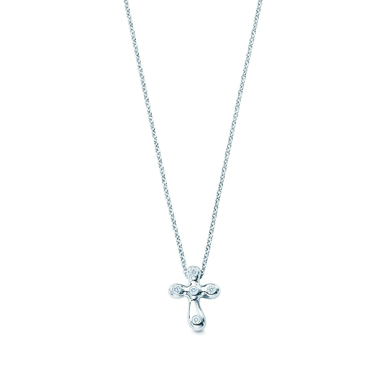 cp with necklaces platinum artistic pearl signature pendant diamond accents sea necklace south collections innovations