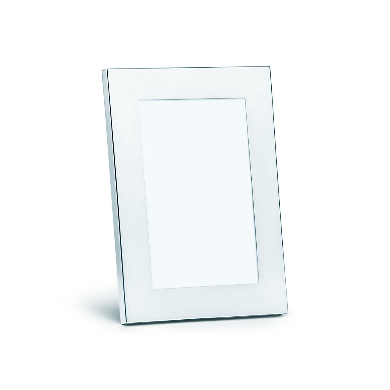 Rectangular frame in sterling silver, size 5 x 7\