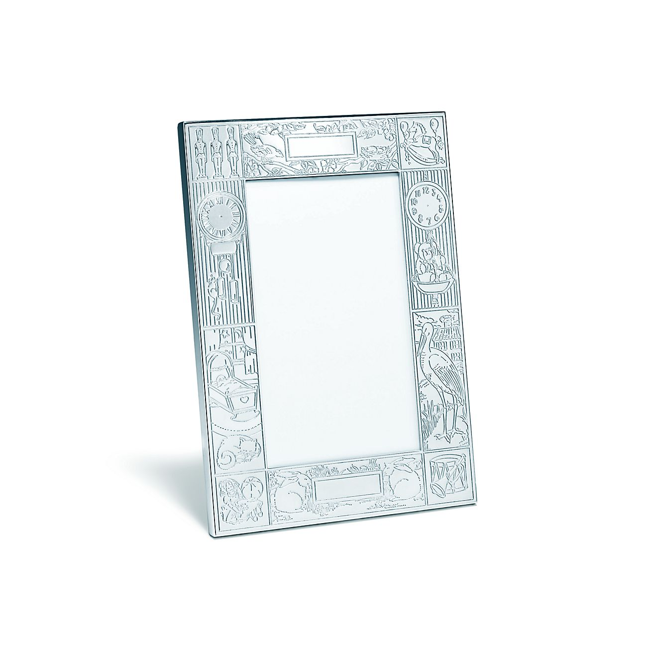 Birth Record Frame In Sterling Silver Tiffany Co