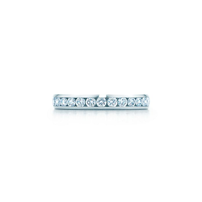 bee9a5425 Tiffany® Platinum Diamond Wedding Band | Tiffany & Co.