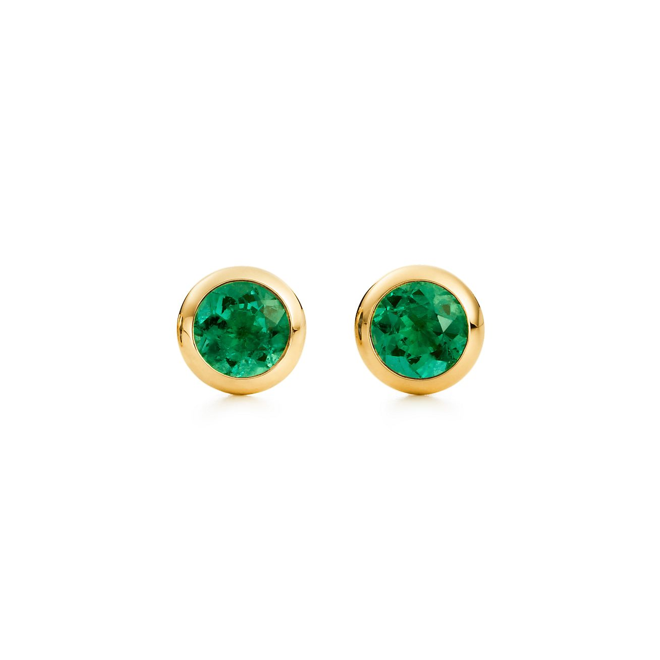 gold jewelry green emerald diamond in nl sterling wg with flower silver earrings women stud earring