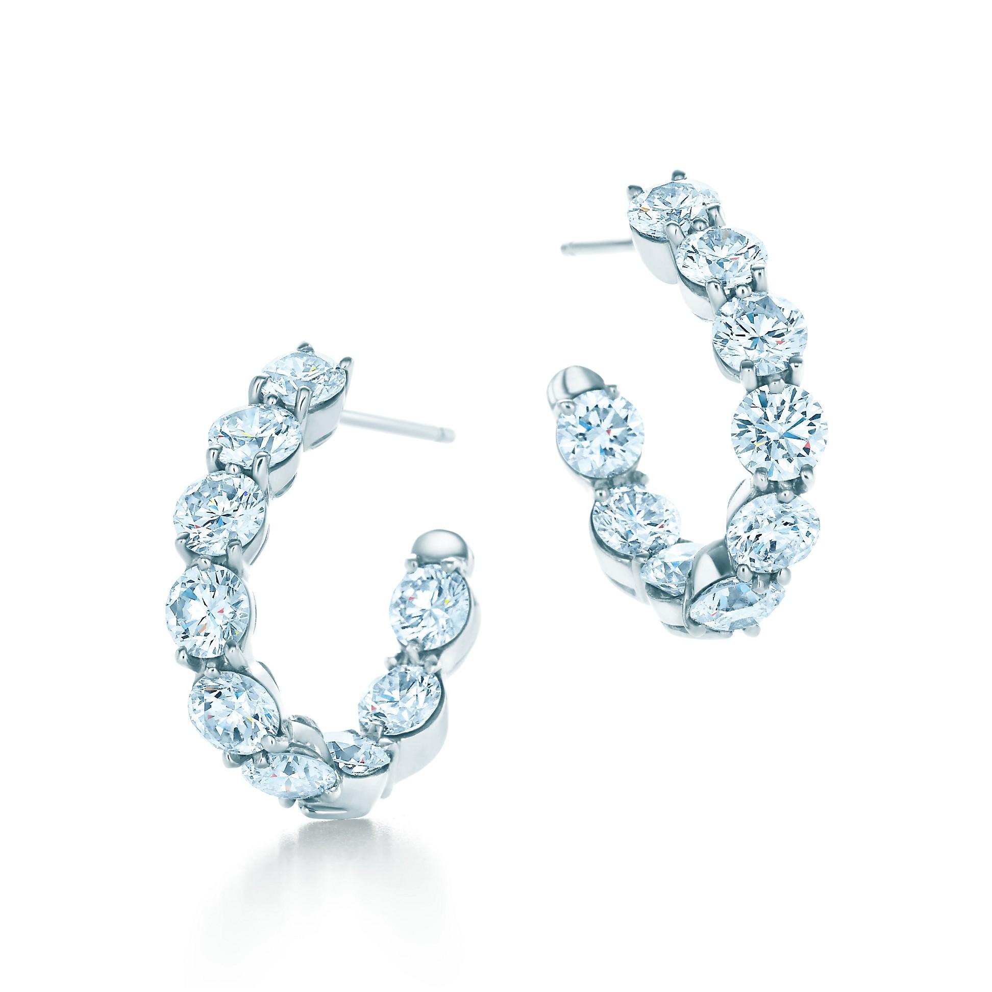 Inside Out Hoop Earrings by Tiffany & Co.