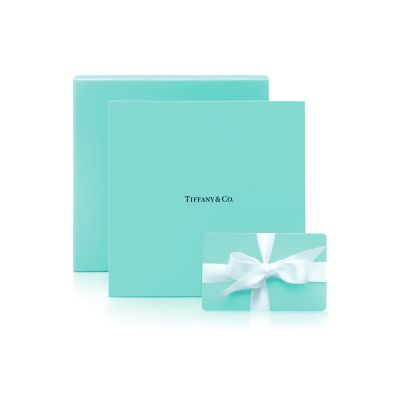 50 Tiffany Gift Card Tiffany Co