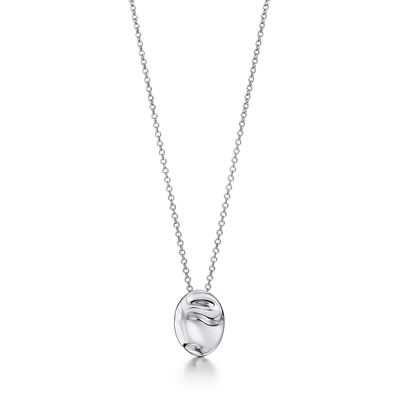 f340a7e1d Ideal Elsa Peretti® Zodiac pendant, Taurus. Sterling silver. | Tiffany & Co