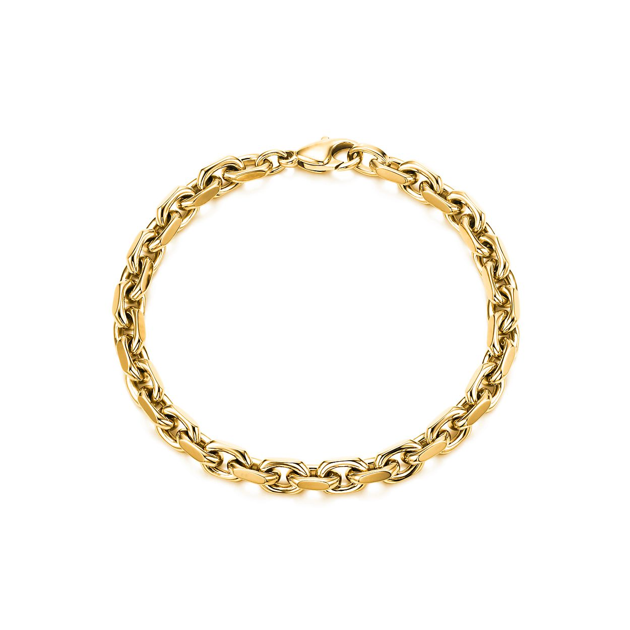 neiman link bracelet elizabeth th gold quick look mu oval marcus locke bangle bangles heavy