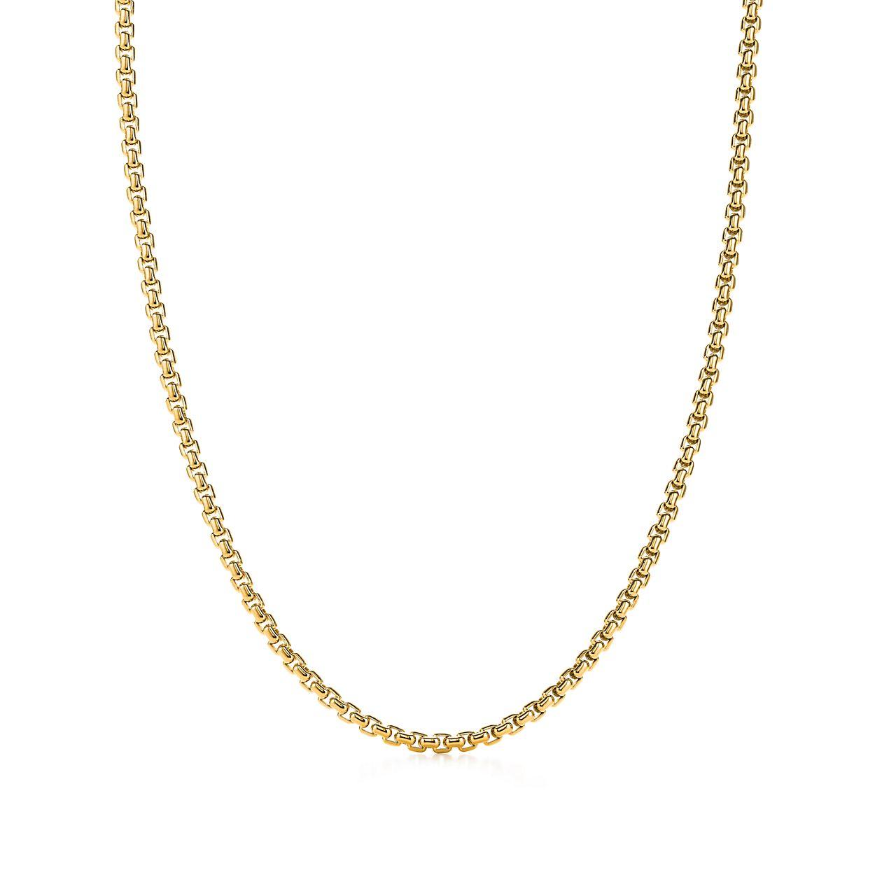 Chaîne En Or Blanc 18 Carats, 30 M De Longueur - Taille 30 Tiffany & Co.