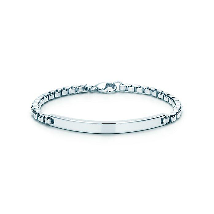 03f2fee49 Venetian Link I.D. men's bracelet in sterling silver.   Tiffany & Co.