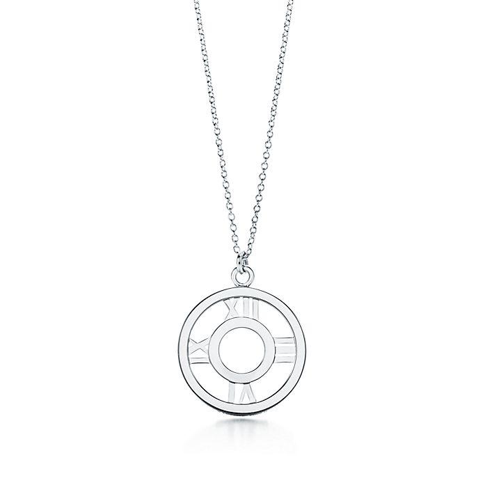 9994e0897 Atlas® open pendant in sterling silver, medium. | Tiffany & Co.
