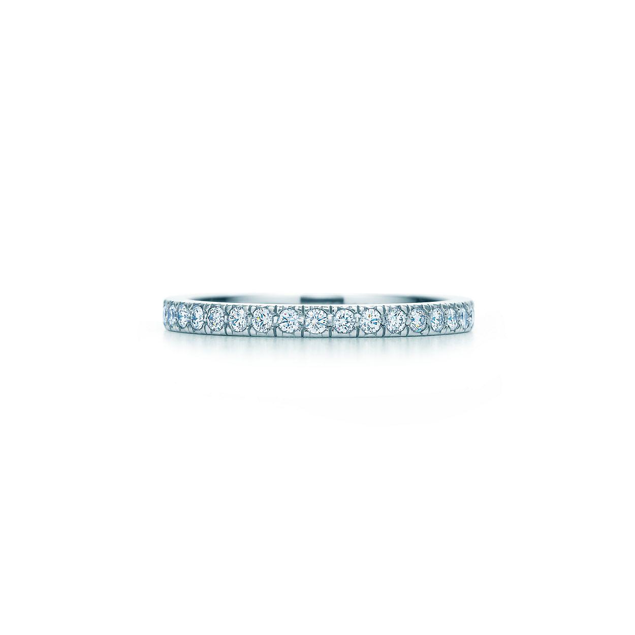 Tiffany Novo Band Ring With Diamonds In Platinum Co Mobile Legend Diamond 36
