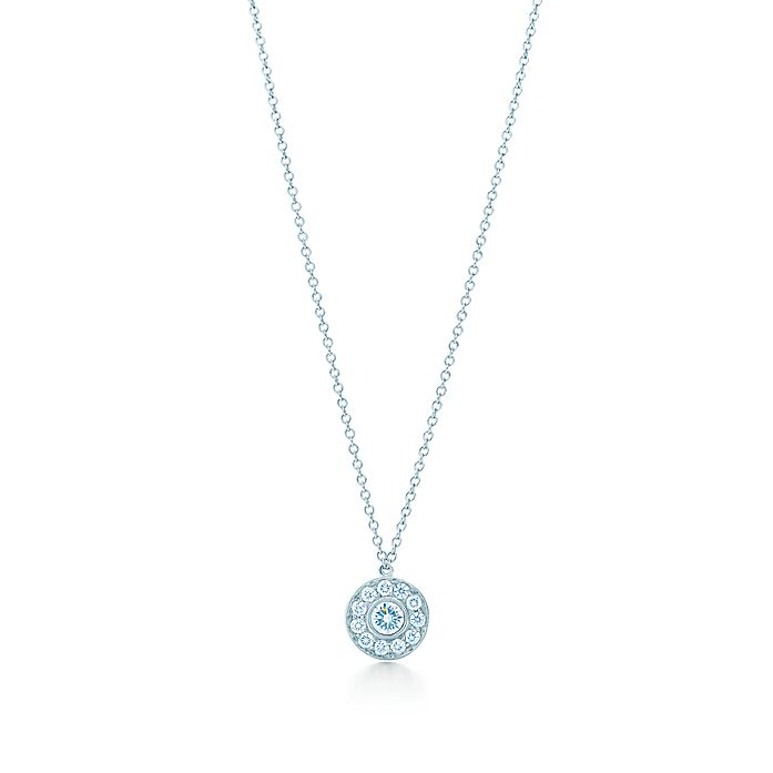 b1cb1f457 Tiffany Circlet pendant of diamonds in platinum. | Tiffany & Co.