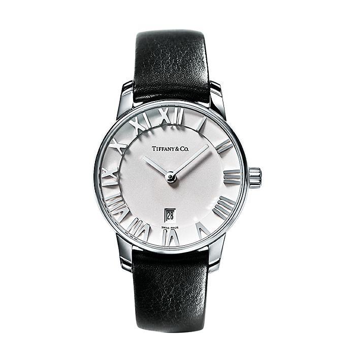 160165df Reloj Atlas® de 37.5 mm, de dos manecillas, en acero inoxidable ...