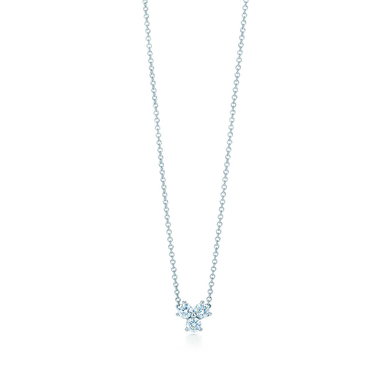 123bc1e8c63 Tiffany Aria pendant of diamonds in platinum.