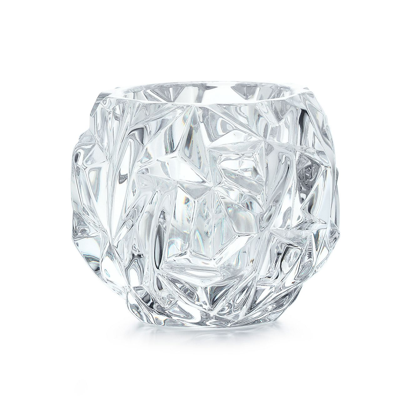 Well-liked Rock-cut votive in crystal glass. | Tiffany & Co. DN93