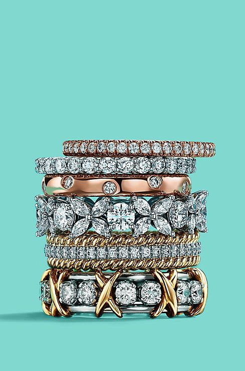 Stackable Rings Tiffany