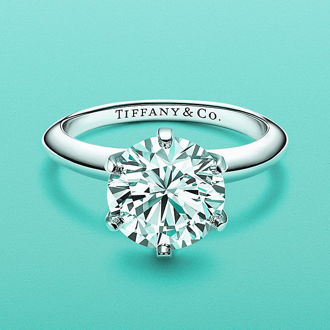 Solitaire Tiffany Bands: Engagement Rings And Diamond Wedding Rings