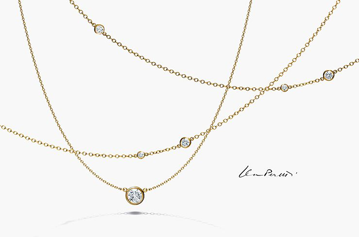 Tiffany Co Elsa Peretti Diamonds By The