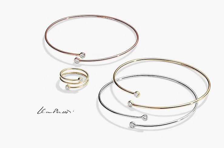 Tiffany Co Elsa Peretti Diamond Hoop Collection