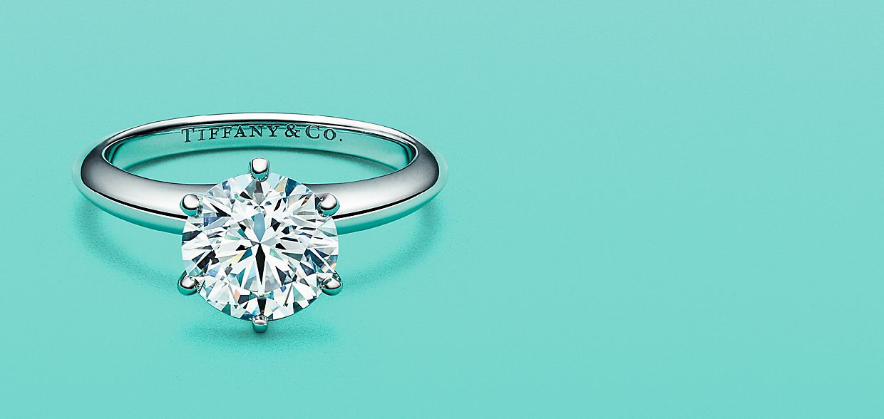 Tiffany Co Engagement Diamond Rings