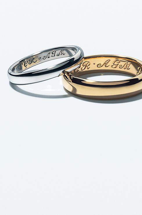 Tiffany Co Engrave Wedding Band