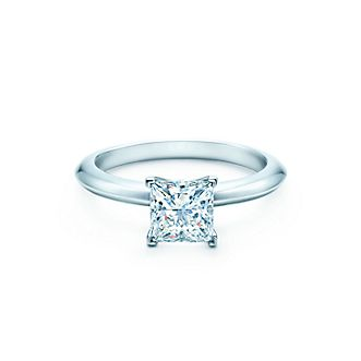 diamante solitario tiffany