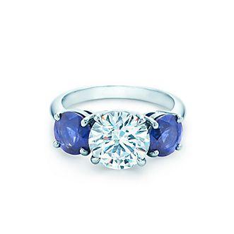 Verlobungsringe Mit Farbigen Edelsteinen Tiffany Co