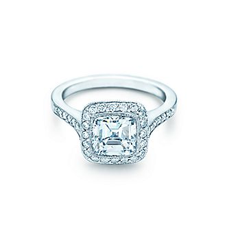 Bague de fiancaille femme gros diamant