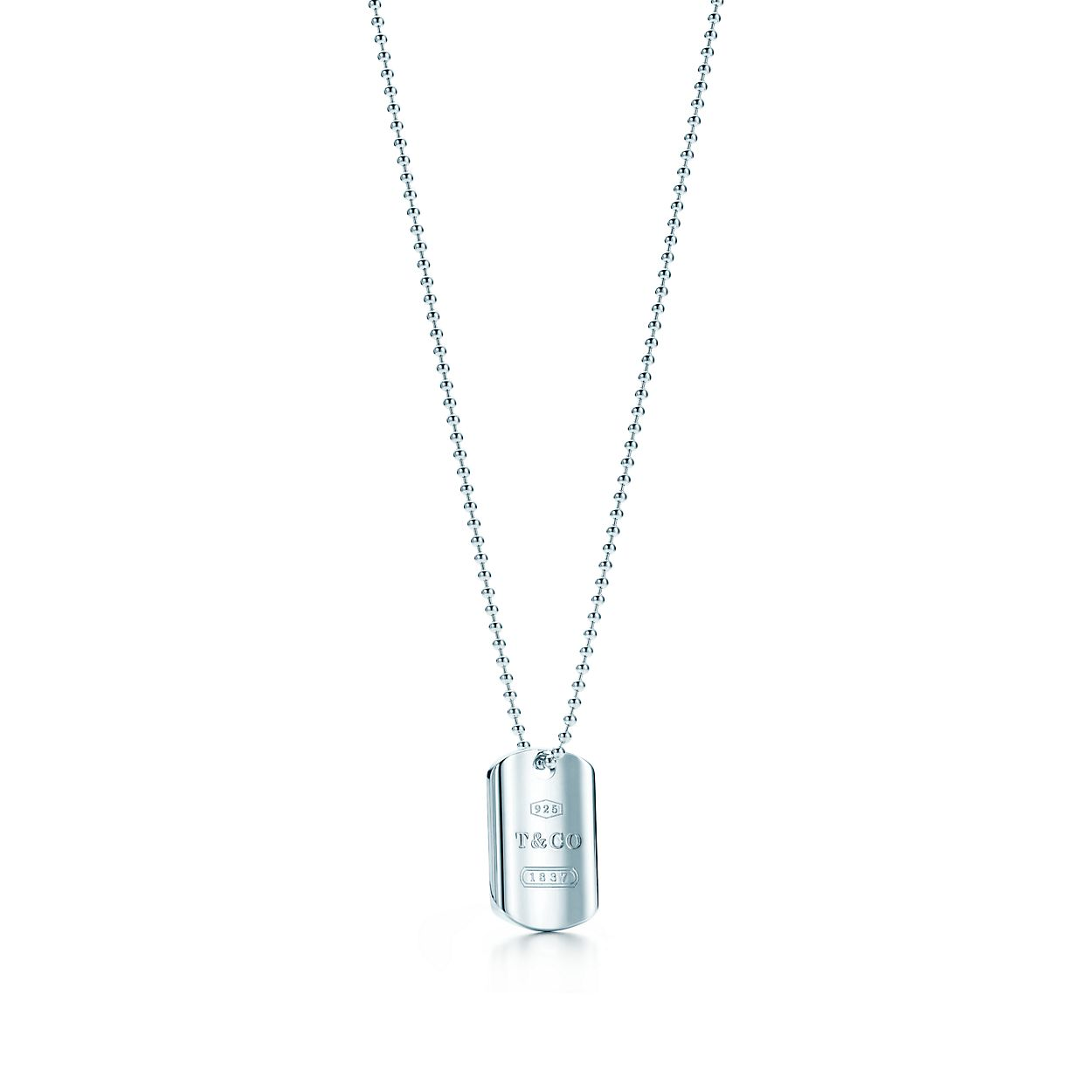 Tiffany 1837 tag pendant in sterling silver tiffany co tiffany 1837tag pendant aloadofball Images