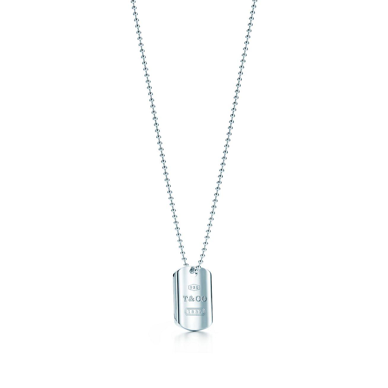 Tiffany 1837 tag pendant in sterling silver tiffany co tiffany 1837tag pendant aloadofball Choice Image