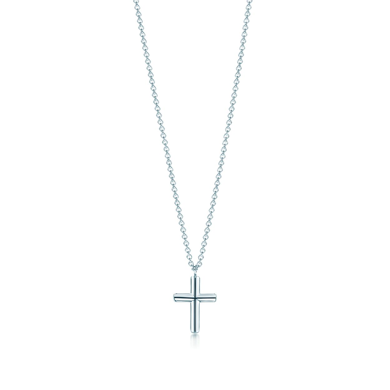 Shop sterling silver concave cross pendant necklace tiffany co concave cross pendant concave cross pendant aloadofball Choice Image