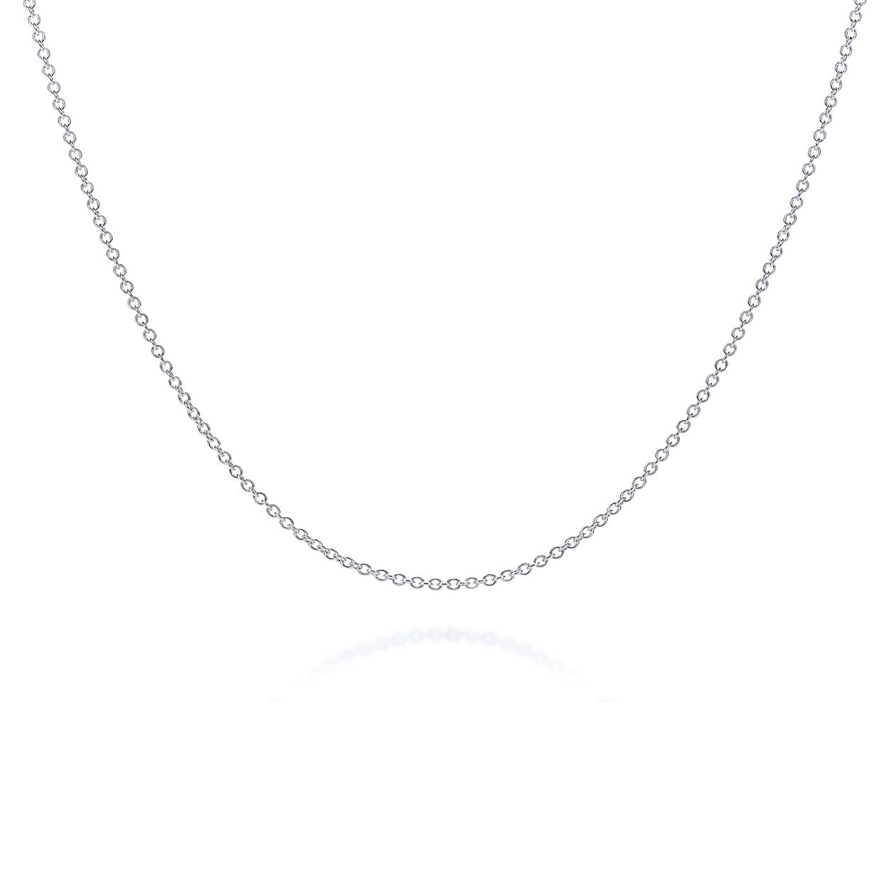 Shop sterling silver chain necklace tiffany co sterling silver chain sterling silver chain mozeypictures Image collections
