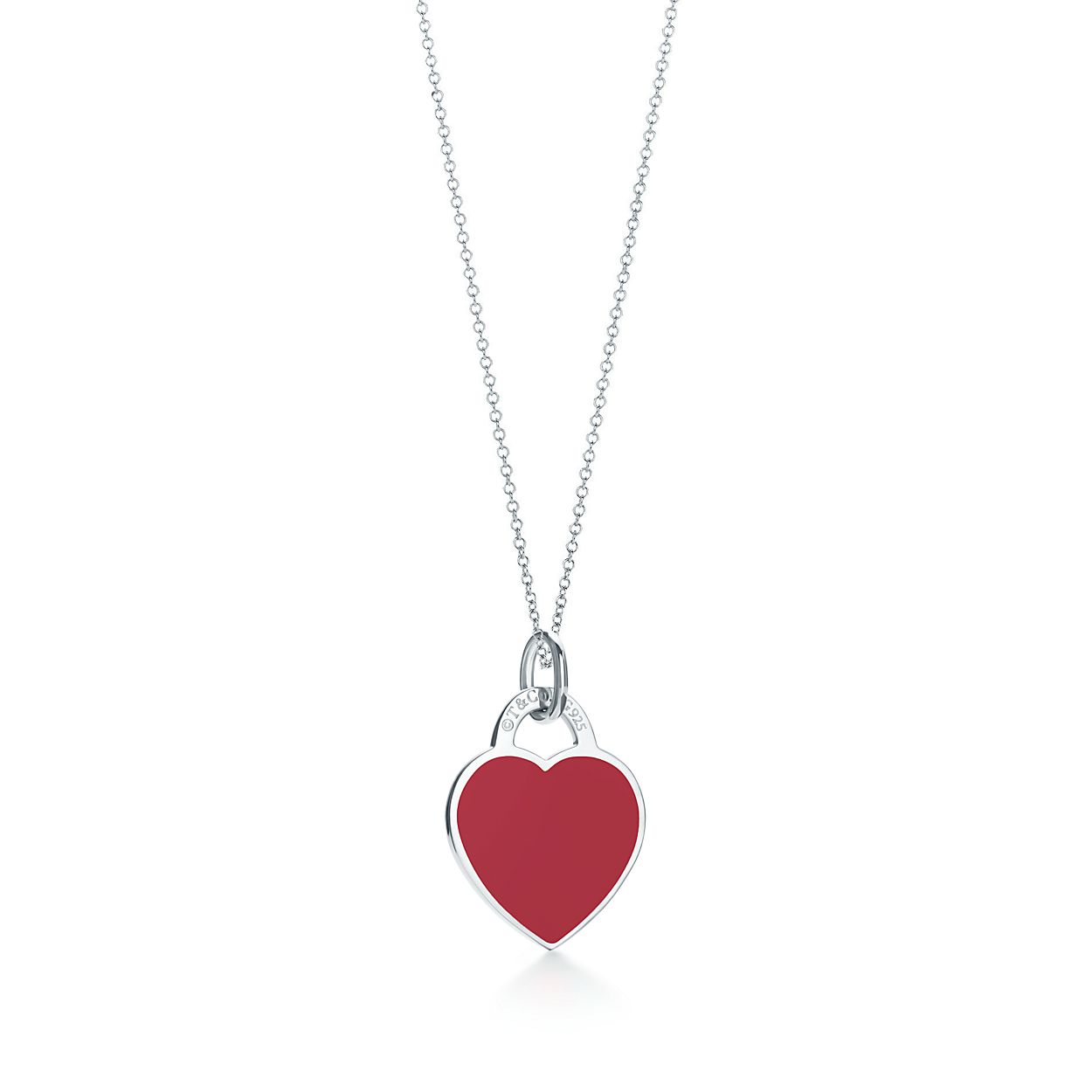 Return to tiffany heart tag charm in sterling silver and red enamel return to tiffanyheart tag charm aloadofball Gallery
