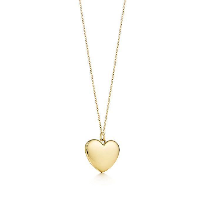 6ec3a5752 Heart locket pendant in 18k gold, large. | Tiffany & Co.