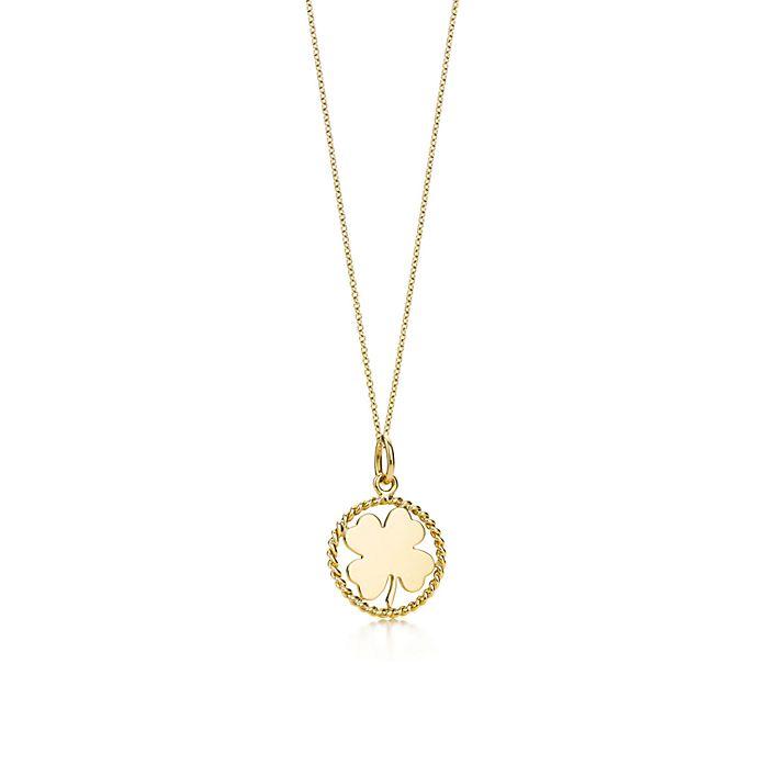 c855da2c5171b clover charm and chain