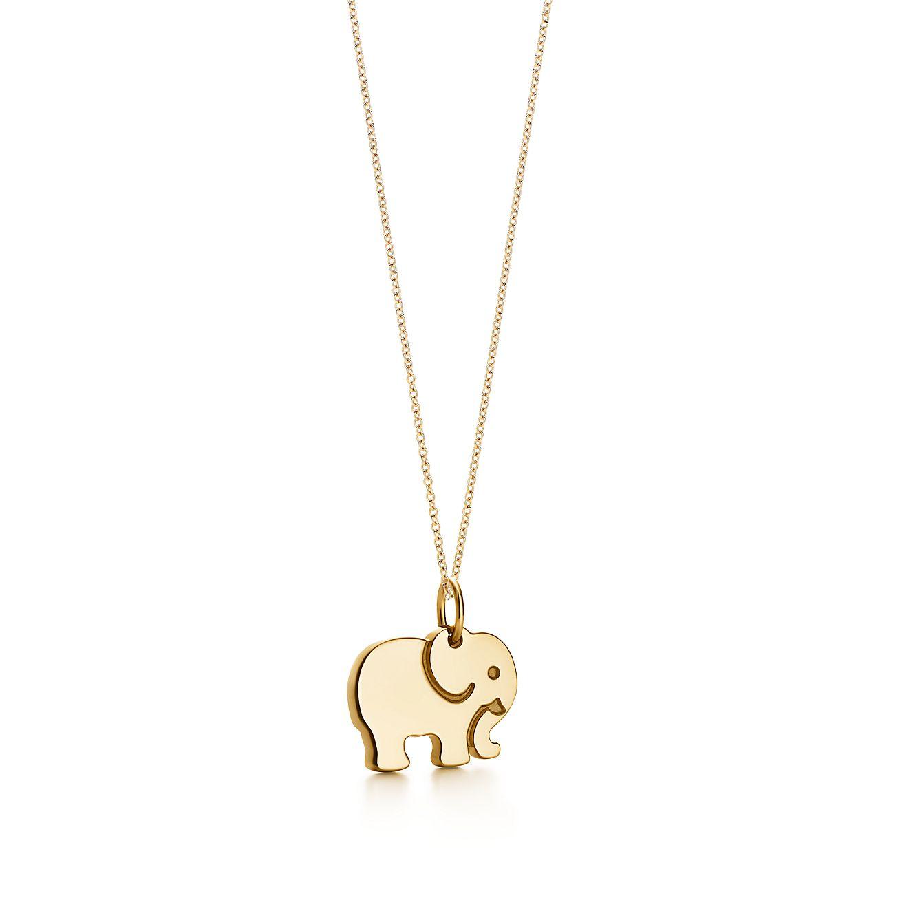 Elephant Pendant Necklace Clipart