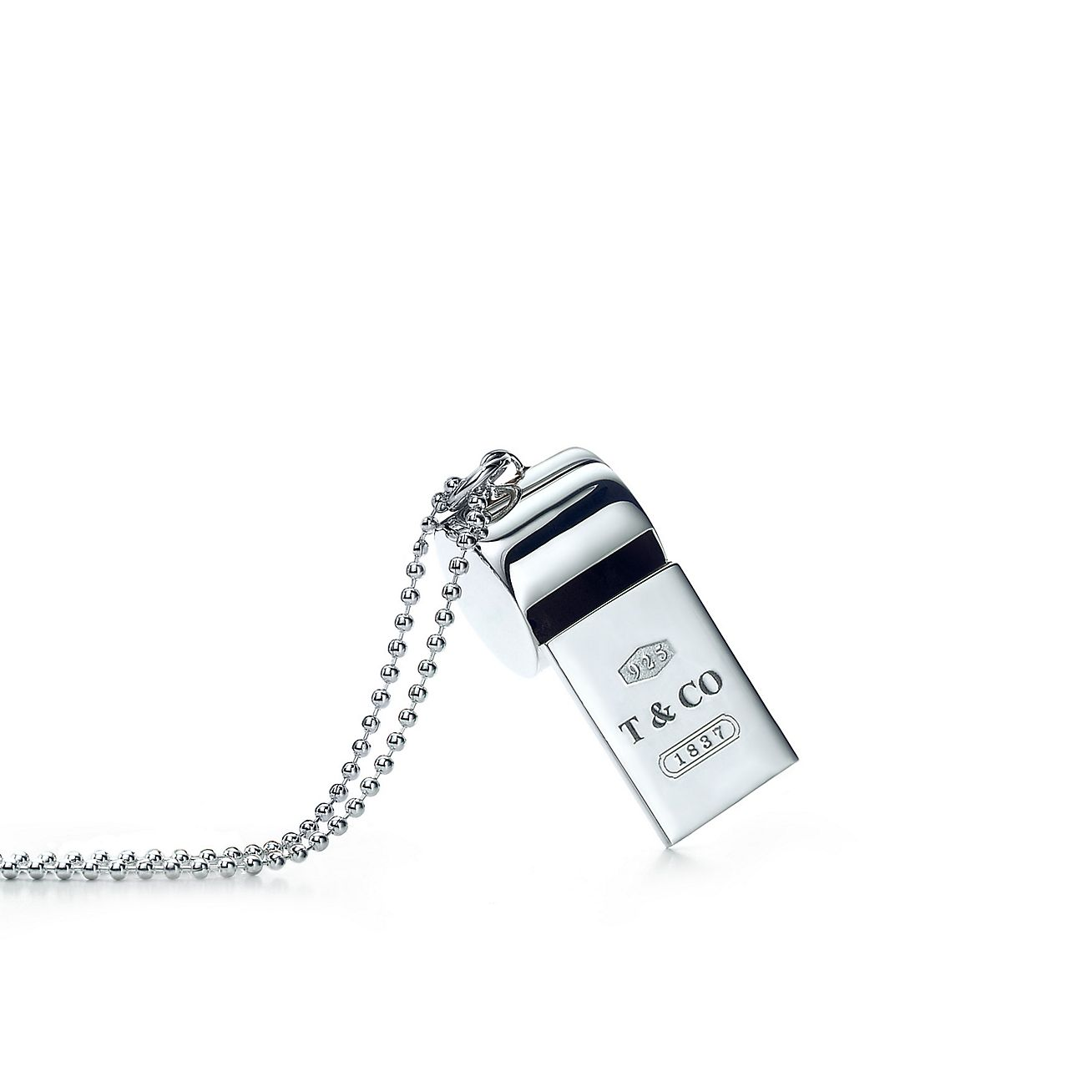 necklace whistle white zestto s pendant product stainless women steel