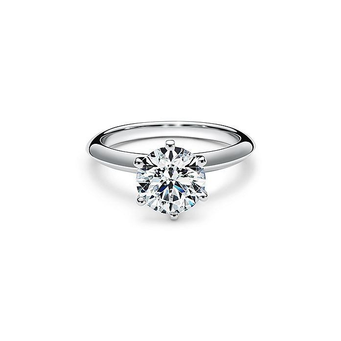 The Tiffany Setting Engagement Ring In Platinum