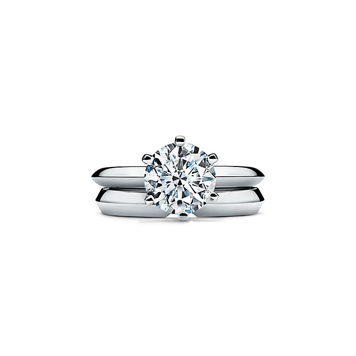 a97cd9e29c6f3 The Tiffany® Setting Engagement Ring in Platinum