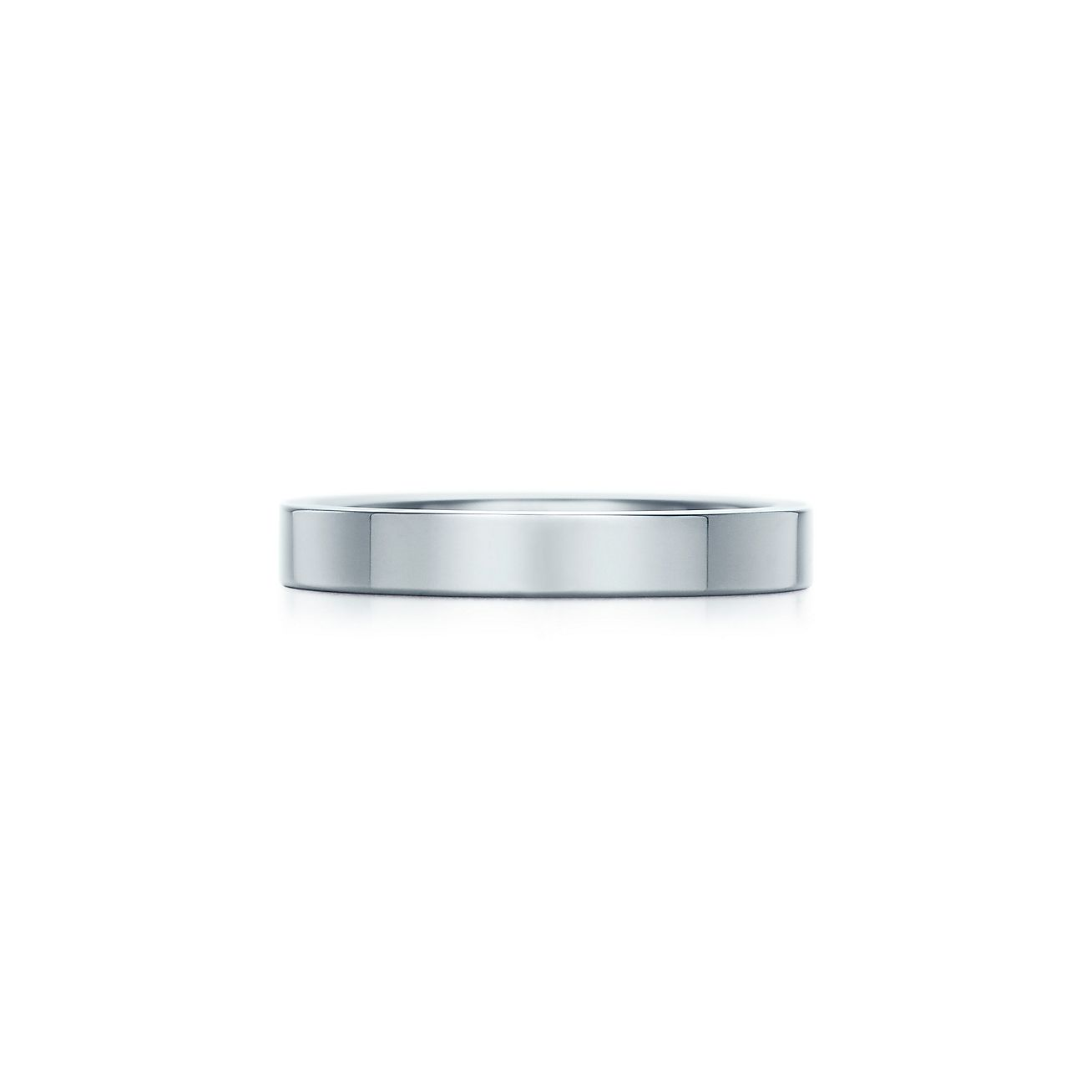 Tiffany Essential Band Ring In Platinum 3 Mm Wide Tiffany Co