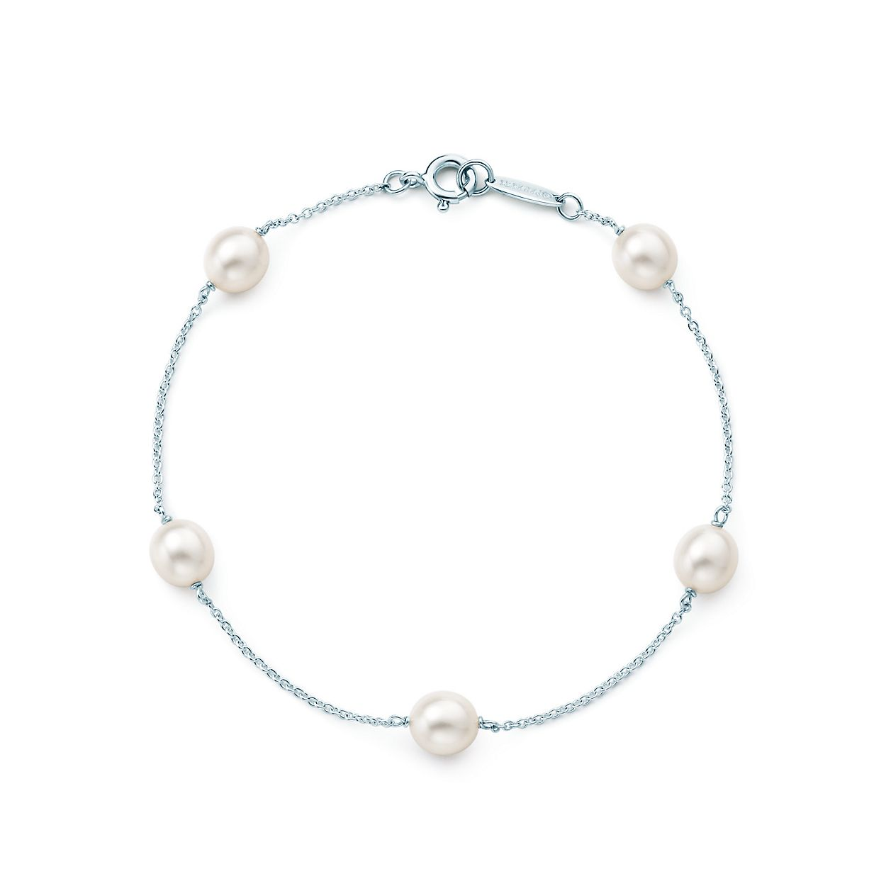 gold pearls white in akoya bracelet cultured pearl