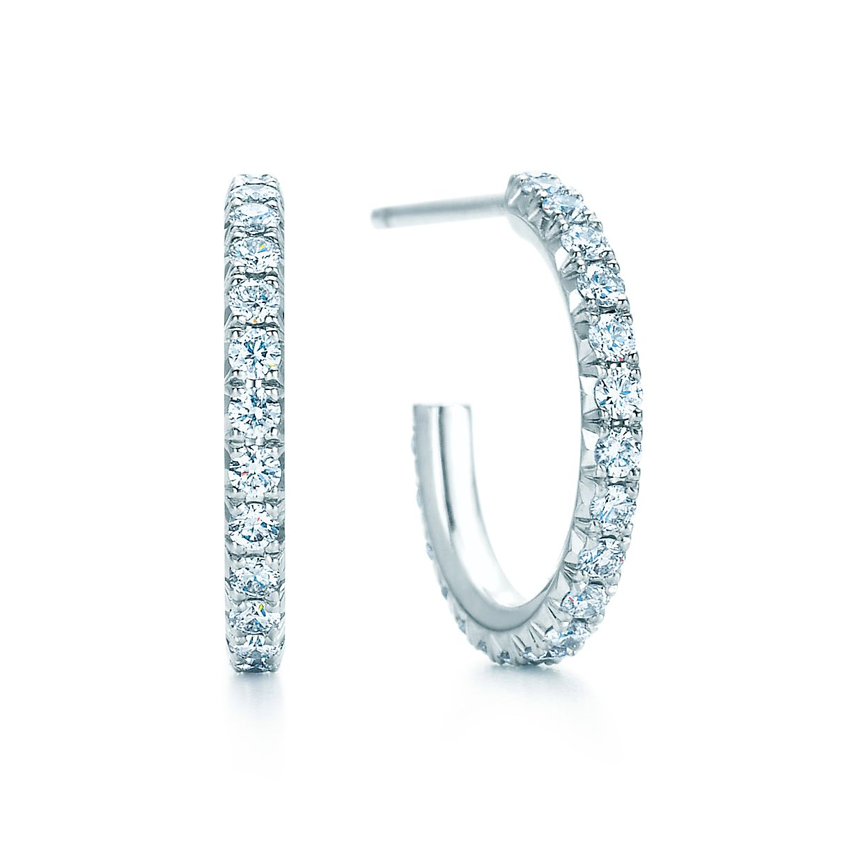 Tiffany Metro Hoop Earrings